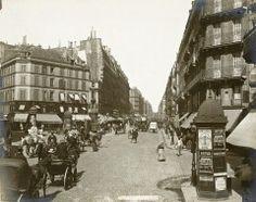 Rue Lafayette - 1889