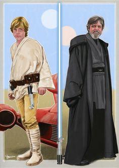 Luke Skywalker by Simon Myers