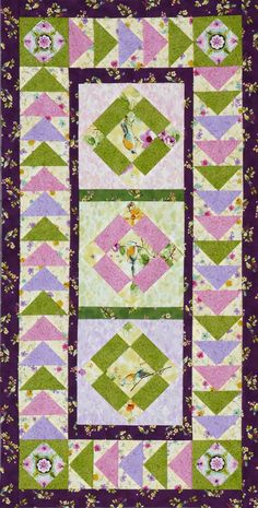 2beb385ada5 80 Best Spring Quilts images in 2019 | Appliqué quilts, Quilt ...
