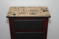 Vintage Dresser Nightstand   Recyclart