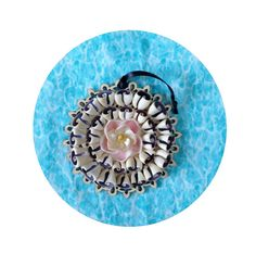 Hey, I found this really awesome Etsy listing at https://www.etsy.com/listing/226431553/cowrie-seashell-ornament