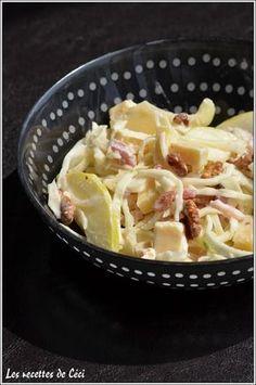 - Vendée salad or white cabbage salad Asian Recipes, Healthy Recipes, Ethnic Recipes, Healthy Food, Cabbage Salad, Summer Kitchen, Batch Cooking, Winter Food, Kitchen Recipes