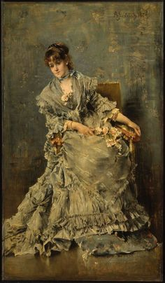 The Attentive Listener 1879 Alfred Stevens, Belgian (worked in France), Alfred Stevens, Victorian Paintings, Victorian Art, Old Paintings, Beautiful Paintings, Woman Painting, Painting & Drawing, Art Amour, Kunsthistorisches Museum