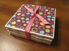 Grits & Giggles: Scrapbook Coasters Tutorial