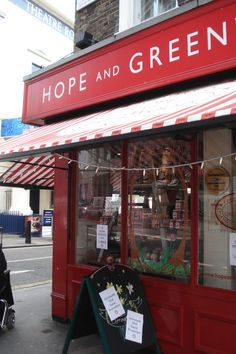 Hope and Greenwood Candy Shop in London