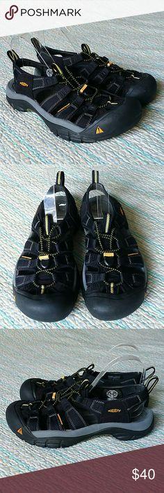 Keen Newport Waterproof Black Sport Waterproof 8.5 Keen Newport Waterproof Black Sport Water Creek Athletic Sandals Men's Size 8.5 Keen Shoes Sandals & Flip-Flops