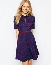 Jack Wills Spotty Tea Dress