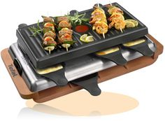 I'm going to add the Raclette Hot Stone Duo to my shopping list.