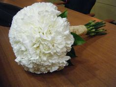 Bouquet de claveles blancos de Quedeflores.com by Nieves Segovia  - concurso de fotografías en Quedeflores.com - #flores #fotografías #concurso