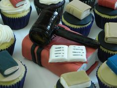 Law/Judge cake by Frosted with Emotions, how cute is this?