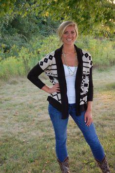 Aztec Sweater - $51 - Betty Jane's Boutique