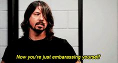 awkward dave grohl embarrassing yourself #humor #hilarious #funny #lol #rofl #lmao #memes #cute