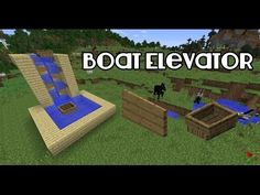 Minecraft: Boat Elevator [Tutorial] - YouTube