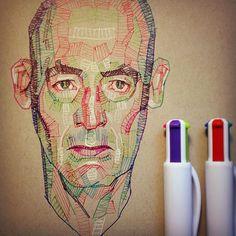 #drawing #sketch #sketchbook #ink #penandink #practice #arte #kunst #instaart #artoftheday #luiferreyra #denverart