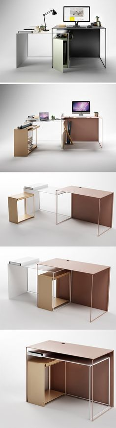 A desk that satisfies every need, space and context, becoming a lifelong working partner with the user!