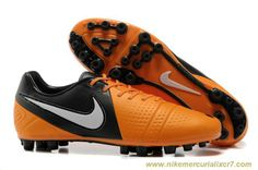 Cheap Nike CTR360 Maestri III AG Orange Black White