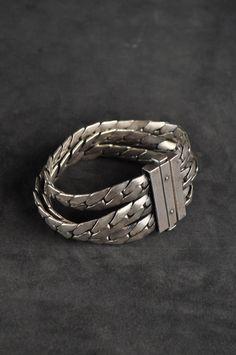 Goti - heavy link bracelet - sterling silver