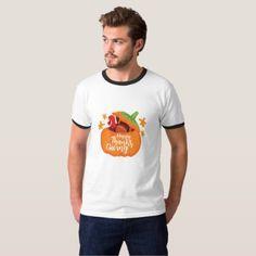 #Happy Thanksgiving - Funny Pumpkin Turkey Day T-Shirt - #ThanksgivingDay Thanksgiving Day #Thanksgiving #happy #family #dinners #turkey #chicken