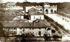 Madrid, puerta de Alcalá 1855