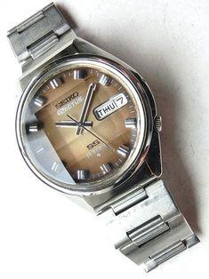 Seiko 5 Five ACTUS 6106 Automatic Vintage 70s wrist watch #o24 | eBay