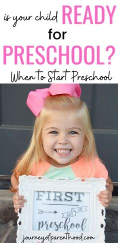 Preschool First Day, First Day Of School Activities, Toddler Preschool, Learning Activities, Preschool Readiness, Kids And Parenting, Parenting Hacks, Parallel Parenting, Baby Feeding Schedule