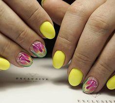 Яркая весна nailsoftheday.com #маникюрдня #ногти #гельлак #дизайнногтей #идеидляманикюра #мастерманикюра #nailмастер #gelpolish #nails #маникюр #яркийманикюр #росписьногтей #тюльпаннаногтях