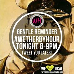 It's #wetherbyhour tonight on twitter - if you haven't joined us before just add #wetherbyhour to tweets between 8-9pm (hint: if you add #wetherbyhour to your search bar and click all, you can see the tweets as they come through from the best in out area).
