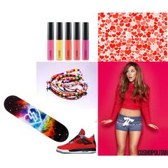 """""""Rainbow, Red, Fun!"""" by kristy-kim on Polyvore"""