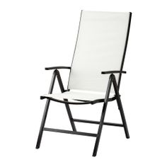 $59 AMMERÖ Reclining chair IKEA The back is adjustable to 5 positions; adjust according to need. High back; provides great support for your neck.