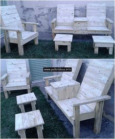 pallets wood garden furniture #pallets #woodpallet #palletfurniture #palletproject #palletideas #recycle #recycledpallet #reclaimed #repurposed #reused #restore #upcycle #diy #palletart #pallet #recycling #upcycling #refurnish #recycled #woodwork #woodworking #recyclingpalletsgarden