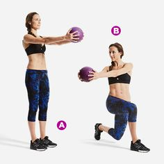 Reverse Lunge Rotate
