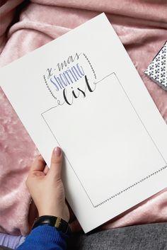 Weihnachtliche Printables für eine organisierte Adventszeit - Rosy & Grey