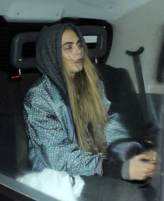 Cara Delevingne and Harry Styles Out in London