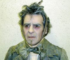 A Christmas Carol makeup | Makeup for a photo-shoot with the David Cook as The Ghost of Marley
