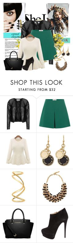 """""""SHEIN Contest: Win Sweater!!!"""" by ayannap ❤ liked on Polyvore featuring Zizzi, Valentino, Marc by Marc Jacobs, Maison Margiela, Etro, MICHAEL Michael Kors, Giuseppe Zanotti, DENY Designs, women's clothing and women's fashion"""