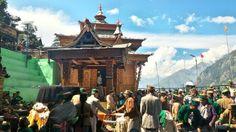Badri Narayan devta G temple, Village : Shong, Tehsil : Sangla, District : Kinnaur, State : Himachal Pradesh, India