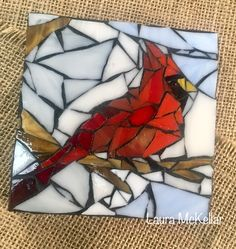Mosaic Art Projects, Glass Fusing Projects, Mosaic Crafts, Mosaic Ideas, Mosaic Rocks, Stone Mosaic, Mosaic Glass, Fused Glass, Stained Glass