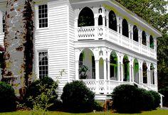 Carnes-Allen house near Jonesboro Georgia (2005).