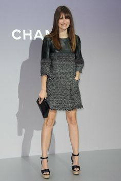 Caroline De Maigret - Celebs at the Chanel Show in Paris
