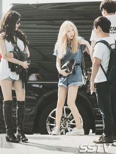 소녀시대少女時代◕‿◕仁川國際機場出發前往曼谷