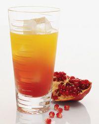 El Gusano Rojo  passionfrt pom grenadine mezcal ginger beer