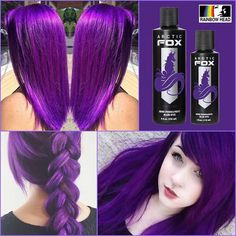44 – 2019 year wonderful colorful, long, short, curly, straight hair and wigs – Sayfa 41 – Fashion & Beauty Dyed Hair Purple, Hair Color Purple, Hair Dye Colors, Cool Hair Color, Purple Black Hair, Pretty Hairstyles, Straight Hairstyles, Hairstyle Ideas, Easy Hairstyles