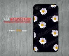 Little Daisy iPhone 4 case Daisy Art iPhone 4 case Daisy iPhone 4s case iPhone 4 4g 4s Hard/Rubber case-Choose Your Favourite Color by MyCasesKing, $6.99