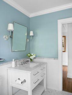 houzz salle de bain et un carrelage mtro photos et ides - Valet De Salle De Bain