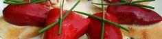 Basque Tapas Piquillo Pepper Stuffed with White Tuna on Bread.