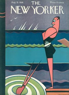 The New Yorker - Saturday, August 21, 1926 - Issue # 79 - Vol. 2 - N° 27 - Cover by : H.O. Hofman