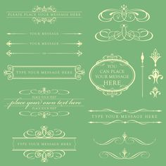 Items similar to DIY Wedding Invitation - Beige Calligraphy Frames Set, includes Text Dividers, Oval Frame , also great as Business Clip Art 10357 on Etsy Frame Clipart, Vintage Wedding Invitations, Diy Invitations, Invites, Wedding Stationary, Invitation Templates, Arabesque, Wedding Invitation Text, Monogram