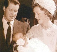 For William, the message now could not be clearer — Diana (pictured at her own christening) is a non-negotiable part of his life
