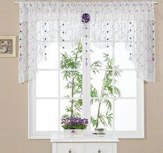 Галерея штор на кухню