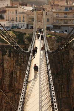 """The City of Bridges"" in Constantine, Algeria"